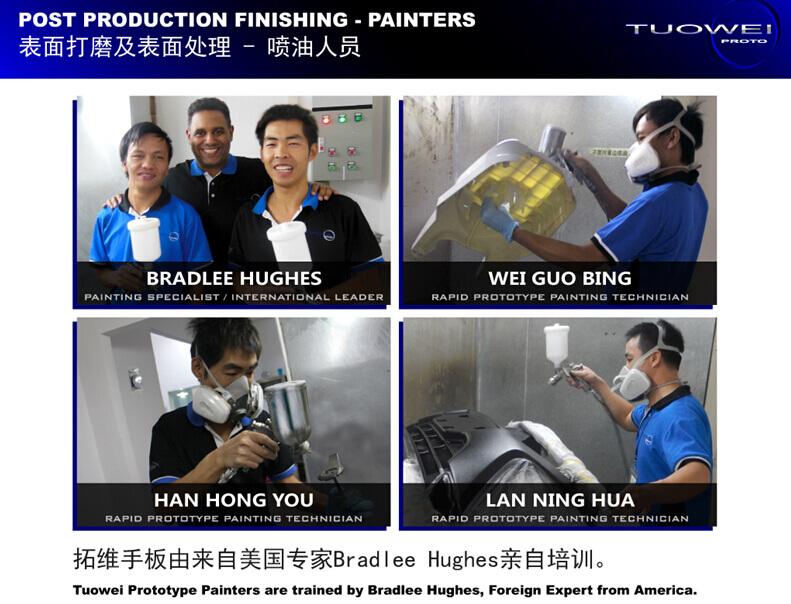 手板模型厂-美国喷油技术