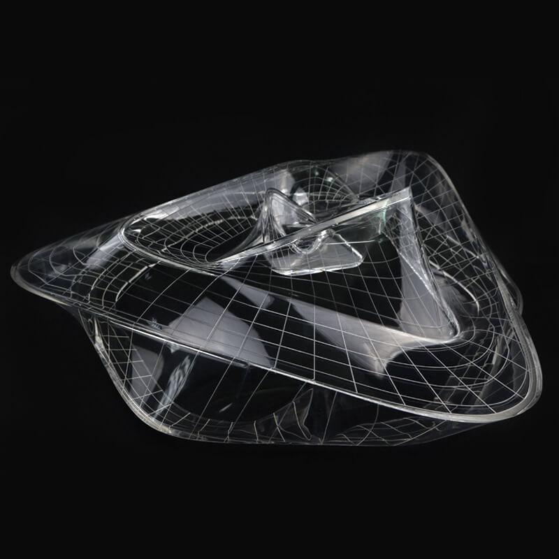 透明件手板