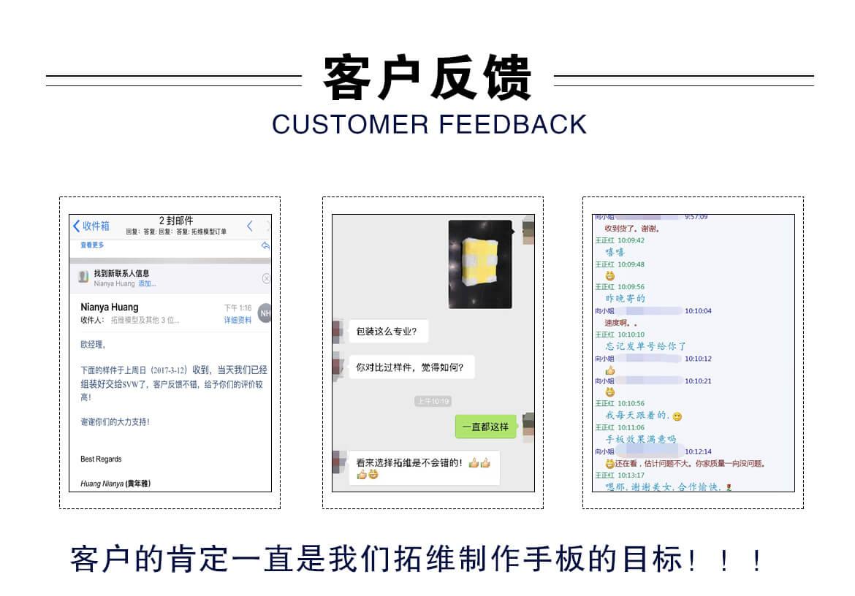 手板模型供应商的客户反馈