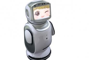 迎宾机器人手板