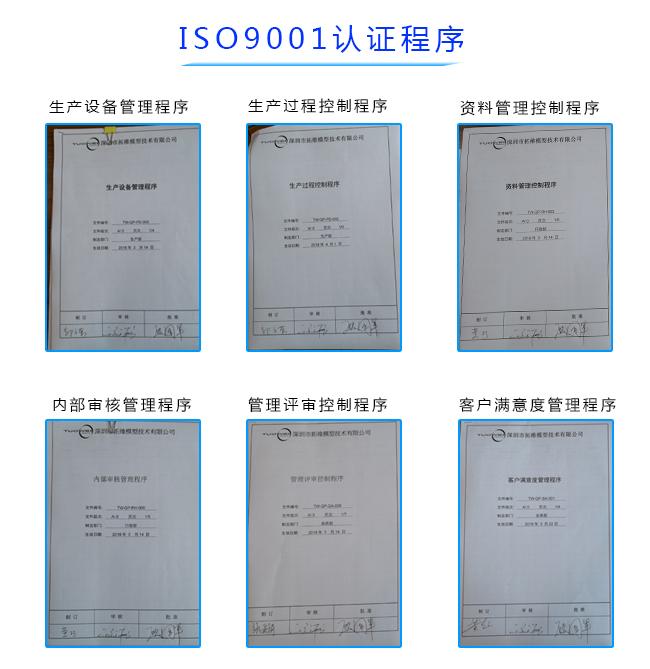 ISO9001质量认证程序