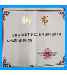国家队教练证书